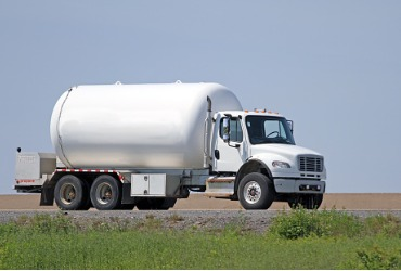 A truck from one of the go-to Propane Companies of Peoria IL