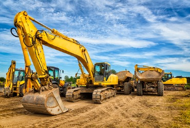 Construction equipment that helps Diesel Delivery Peoria IL