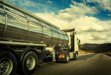 Gas truck driving for Fuel Delivery in Washington IL